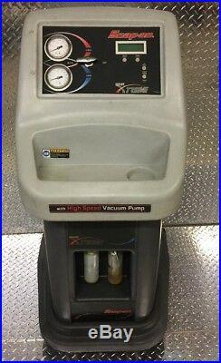 SNAP-ON DIAGNOSTICS Air Conditioning Equipment KOOL KARE Xtreme withVacuum Pump