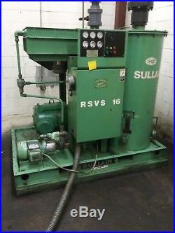 SULLAIR RSVS16 Rotary Screw Vacuum Pump 50 HP Vac