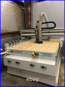 ShopSabre 4860 CNC with 10-Tool ATC and 10HP Vacuum Pump