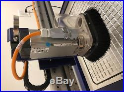 Shopbot Desktop 2418 CNC WithSpindle Aluminum Vacuum Table Vacuum Pump Computer