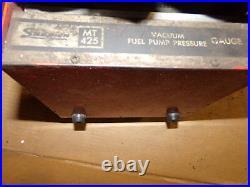 Snap On MT425 Vacuum Fuel Pump Pressure Gauge, In Case FREE SHIPPING