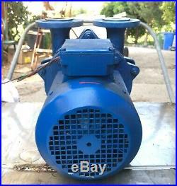 Speck Pumpen V-95-55.0010 Liquid Ring Vacuum Pump 33 Mbar 70m3/h