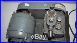 Speedivac High Vacuum Pump & Compressor For Live Steam Engines