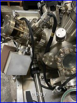 Spherical SS High Vacuum Chamber with lot of HV parts