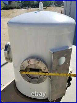Stainless High Vacuum Chamber 23 I. D. X 30 H