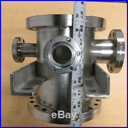 Stainless Steel Vacuum UHV Chamber With ConFlat (CF) flanges