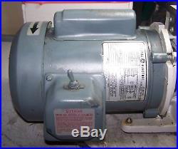 TRIVAC VACUUM PUMP MODEL D2A 1/3 HP 115/230 VOLT