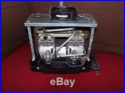 Two Stage Oil Free Air Compressor Vacuum Pump 4 Cfm Hookah