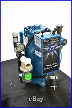 Tech West VPL2SS Dental Vacuum Pump System for Operatory Suction BEST PRICE