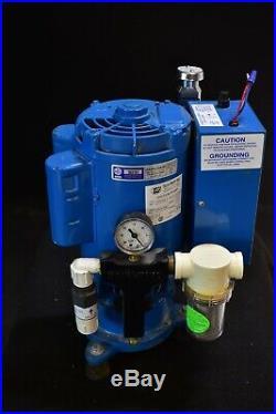 Tech West VPL3SS Dental Vacuum Pump System Operatory Suction Unit