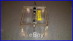 Terra Universal 5235-03A Acrylic Vacuum Chamber 10x10x8.5ID-Great Condition