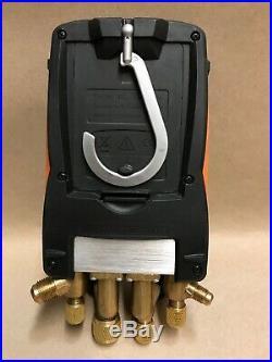 Testo 557 4-Valve Digital Manifold Kit with Bluetooth 0563 1557