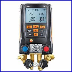 Testo 557 Digital HVAC Refrigeration Manifold
