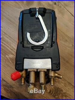 Testo 557 Digital Manifold Kit With Bluetooth Enabled 0563 1557