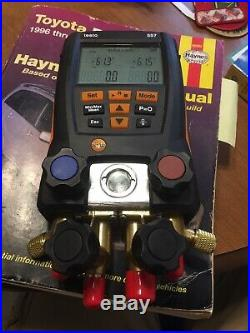 Testo 557 Digital Manifold Kit With Bluetooth Enabled 0563 1557 GAUGE ONLY