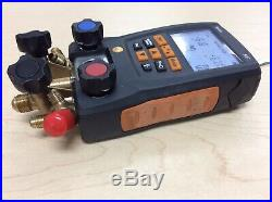 Testo 557 Digital Manifold Tester With Bluetooth Enabled 0563 1557