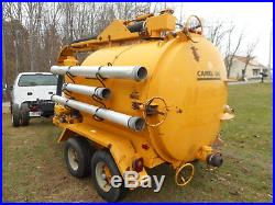 The Super Products Camel Vac Sewer Mud Pump Vacuum Trailer