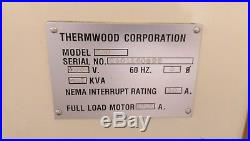Thermwood CNC Router, 3-Axis, 5x5 table, Hand held programmer, with vacuum pump