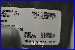 Thomas 2688CE44 D Air Compressor & Vacuum Pump 115V/60Hz/4.5A