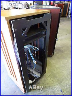 Thomas Gregor AV Server Component Rack Audio Video Black Cherry Maple Wood