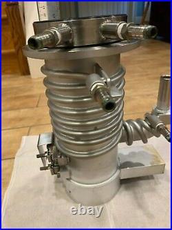 Tokyo Vacuum Diffusion Pump Hitachi JOEL SEM Cold Trap Oil 400L/s OFK-3US CH-3US