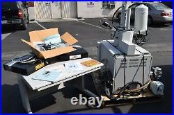 Topcon sm-300 Scanning Electron GUN Microscope SEM Evex Ulvac Adixen Vacuum Pump