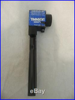 Transcat Dual Pressure Vacuum Calibrator 5860PV Hand Pump -24 Hg to 500 PSI