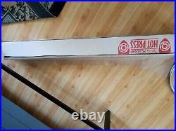 Tullis Russell Drytac HGP260 Hot Vacuum Press (35 x 47), stand, pump + extras