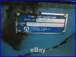 Tuthill Kinney Vacum Pump With Lincoin Electric Motor #712858r Used