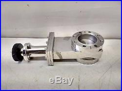 UHV DN50 ConFlat Ultra High Vacuum Stainless Steel Manual Gate Valve