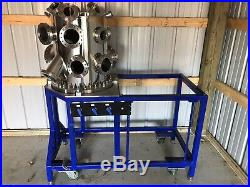 UHV High Vacuum Chamber Extra Large Size (includes custom cart)