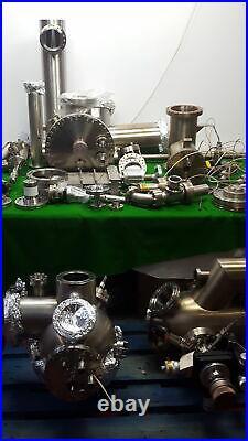 UHV Vacuum Job Lot STM + SIMS + Loadlock Chambers, Gate Valves, Flanges + More