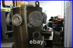 Ultra High Vacuum System Stainless Steel 2-Level Chamber Laboratory Lab Pump