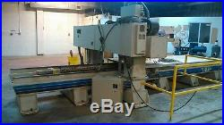 Used 1995 KOMO VR512 dual spindle cnc router with vacuum pump