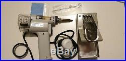 Used S-998P 220V 100W Electric Vacuum Double-Pump Solder Sucker Desoldering Gun