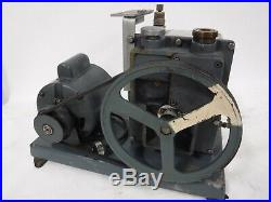 Used Welch Duo-seal 1402 Vacuum Pump With Ge 1/2hp 5kc42jg14e Motor B