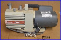 VARIAN EVAC 200 Vacuum Pump 1/2 HP 115/230V 1725rpm