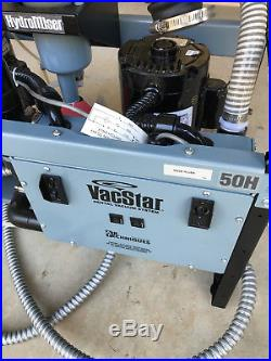 VacStar 50H Dental Vacuum Pump System for Operatory Suction