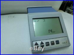 Vacuubrand CVC211 02 Vacuum Pump Controller, CVC2II, 230Vac, used, Ger#5739