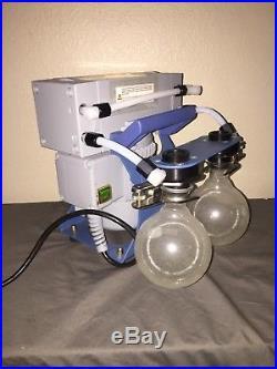 Vacuubrand MZ 2C Chemistry Diaphragm Vacuum Pump System 15 mbar (with ballast)