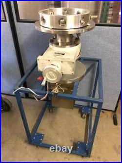 Vacuum Base Station with collar fits 12 inch bell jar