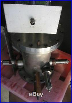 Vacuum Chamber / Reactor Chamber with Electrodes and Ports