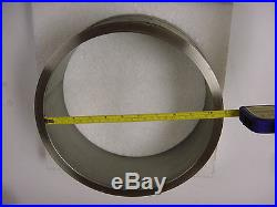 Vacuum Flange Adapter, Stainless Steel, 10 ID, Good Condition