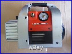 Vacuum Pump for Purification Rothenberger 6 CFM 170L/Min Roairvac 6.0 115v-230v