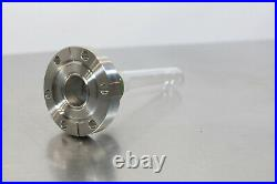 Vacuum Pyrex Glass Adapter 2.75 CF to 1 Glass Domed Tube/Viewport GMPS100F3RN