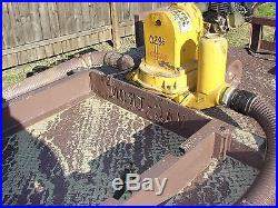 Vacuum Trailer Trash Mud Pump-Car Wash Equipment Vacuum Truck