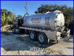 Vacuum pump truck