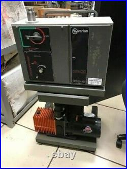 Varian 938-41 Helium Leak Detector with Diffusion Pump