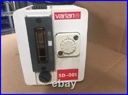 Varian Dual Stage Rotary Vane Vacuum Pump SD-201