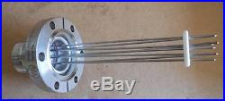 Varian High Vacuum Feed Through 8 Pin Electrical Feed through 954-5012